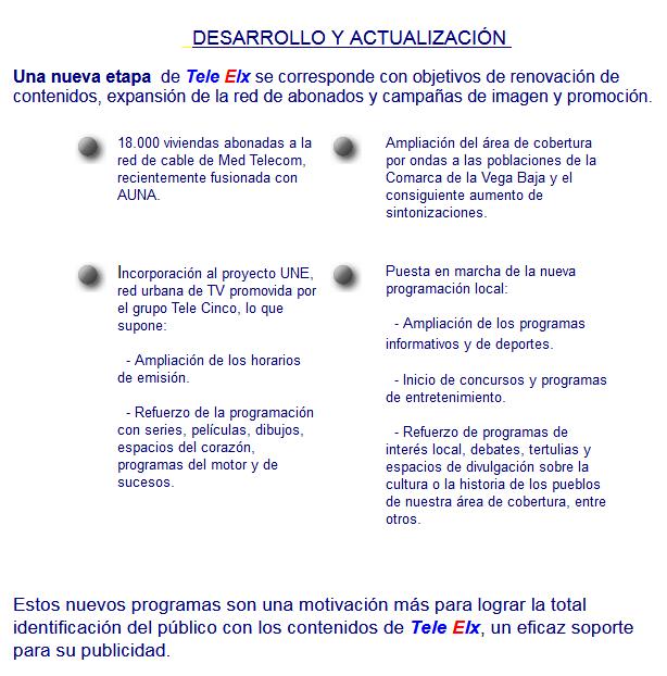 Red de televisiones locales UNE - Med Telecom
