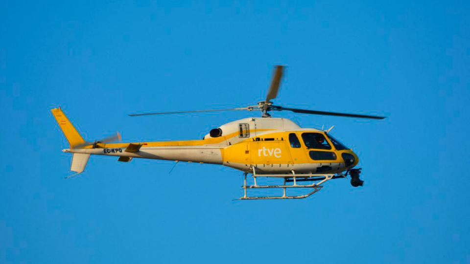 Helicóptero de TVE